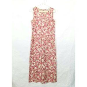 Casual Corner Long Floral Dress